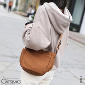 Catsbag|厚磅隨性收納帆布包斜背包| 1371