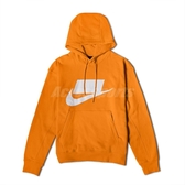Nike 長袖T恤 NSW French Terry Pullover Hoodie 黃 白 男款 帽T 運動休閒 【PUMP306】 BV4541-886