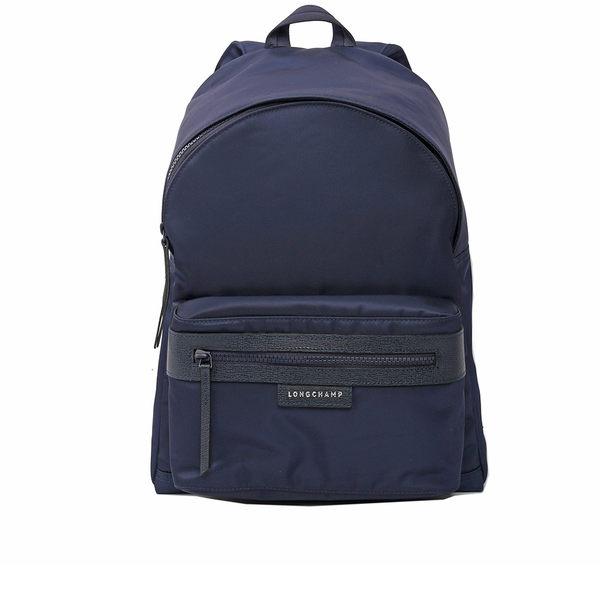 【LONGCHAMP】M號尼龍後背包Le Pliage Neo (藍色)1119578006