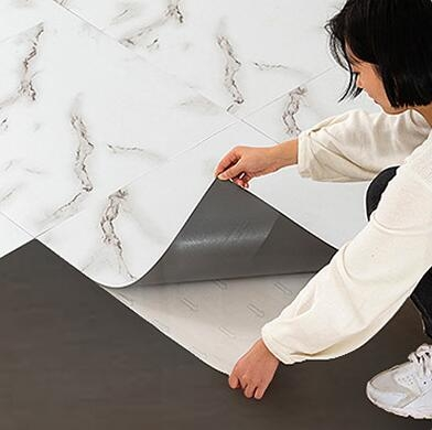 3D立體地貼 地板貼紙自粘PVC地板仿瓷磚大理石塑耐磨防水泥地膠翻新改造TW【快速出貨八折鉅惠】
