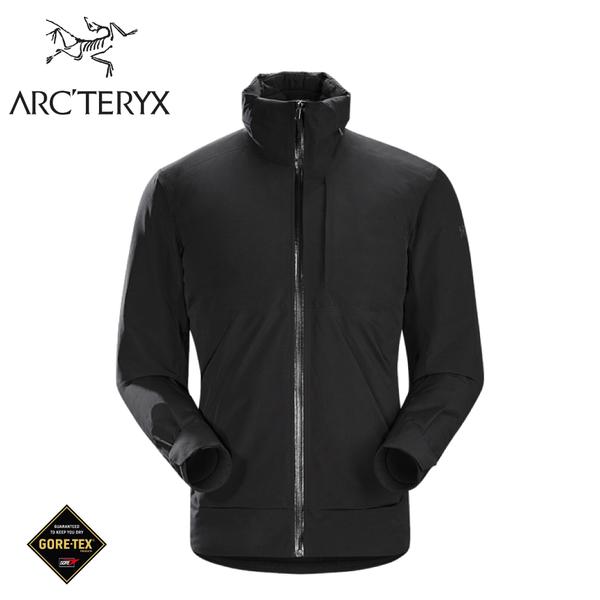 【ARC'TERYX 始祖鳥 男 Ames GORE-TEX化纖外套《黑》】18161/防水外套/連帽外套