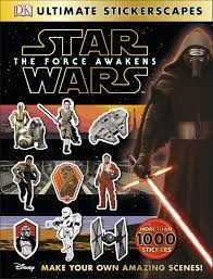 STAR WARS THE FORCE AWAKENS STICKERSCAPES /星際大戰貼紙書