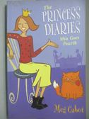 【書寶二手書T2/原文小說_OLK】The Princess Diaries-Mia Goes Fourth_CABOT