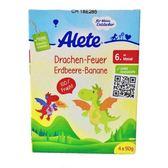 德國 Alete 香蕉蘋果草莓果泥-飛行龍包裝(90gx4包)[衛立兒生活館]