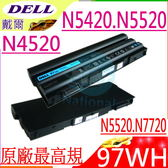 DELL電池(原廠9芯)-戴爾 E5420,N4420,N4520,N4720,N5420,N5520,N7720,HCJWT,RU485,T54FJ,PRRRF