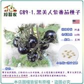 【綠藝家】G89-1.黑美人紫番茄種子10顆