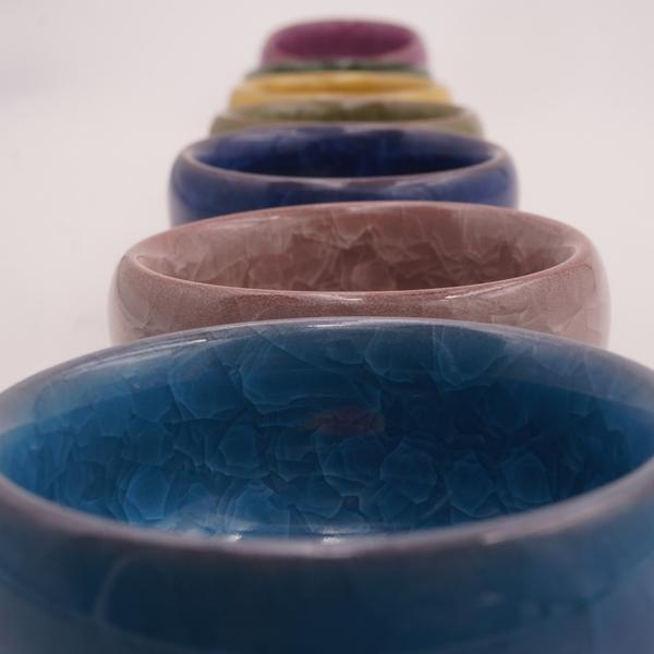 冰裂游魚杯