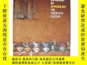 二手書博民逛書店An罕見Anthology of African Art - T