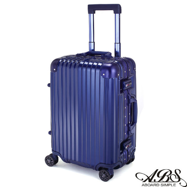 ABS愛貝斯 M3系列 20吋鋁框海關鎖行李箱(風格藍)99-051C