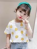 兒童T恤女童短袖t恤2020年夏季新款嬰兒童半袖上衣小童純棉女孩體恤寶寶T 小天使