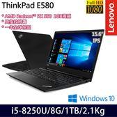 【ThinkPad】E580 20KSCTO1WW 15.6吋i5-8250U四核RX550獨顯商務筆電(一年保固)