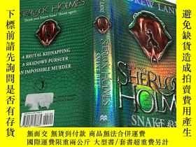 二手書博民逛書店Young罕見Sherlock Holmes: Snake Bi