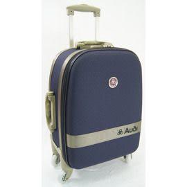 Backbager 背包族【AUDI台灣製造】蜂巢箱版面 登機箱/拉桿箱/旅行箱/行李箱 (18吋 深紫 )