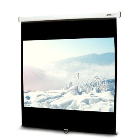 簡雅設計款 流線型輕巧 UNICO雅典娜系列CA-H75(16:10)75吋手動席白壁掛布幕