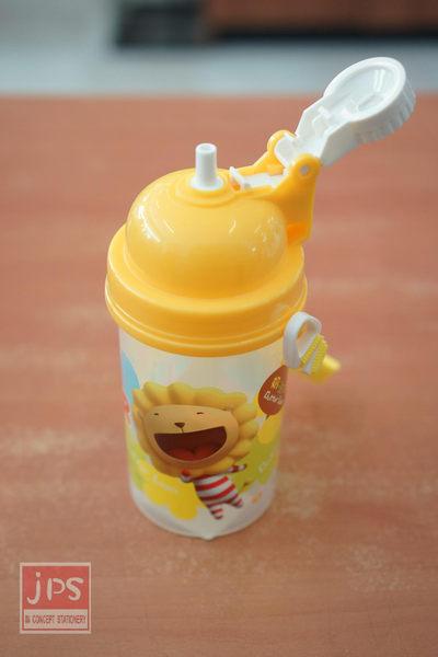 奶油獅 500c.c. 彈跳水壺 (黃)