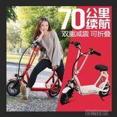 電動車 折疊車成人小型便攜成人車電動車女性代步車 魔法空间