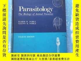 二手書博民逛書店PARASITOLOGY罕見the biology of ani