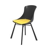 組 - 特力屋萊特 塑鋼椅 金屬腳架/黑椅背/黃座墊
