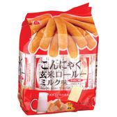 北田蒟蒻糙米卷-牛奶口味160g【愛買】