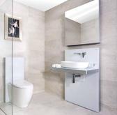 【麗室衛浴】Geberit  明裝專用造型臉盆及鐵架 適用各式各樣埋壁龍頭與臉盆  顏色黑、白
