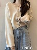 毛衣女秋冬外穿2020新款韓版寬松短款軟糯外搭針織開衫小清新外套