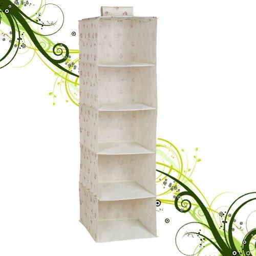 五層置物吊櫃75x34x16cm儲物櫃子.收納櫃.衣物櫃.不織布收納架子.特賣會.推薦哪裡買專賣店