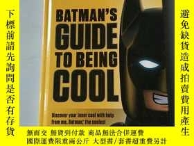 二手書博民逛書店batman,s罕見guide to being coolY21