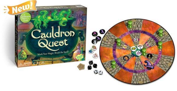 【KANGA GAMES】魔法藥水任務 Cauldron Quest 家庭益智派對桌上遊戲