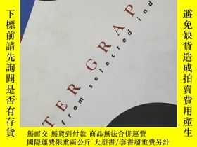 二手書博民逛書店POSTER罕見GRAPHICS 1990年海報創意廣告平面設計