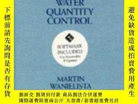 二手書博民逛書店Hydrology罕見and Water Quantity Control-水文水量控制Y443421 Mar