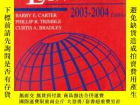 二手書博民逛書店International罕見Law Statutory 2003-2004: Selected Document