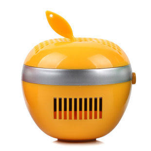 蘋果活性炭創意汽車禮品淨化空氣時尚裝飾擺件