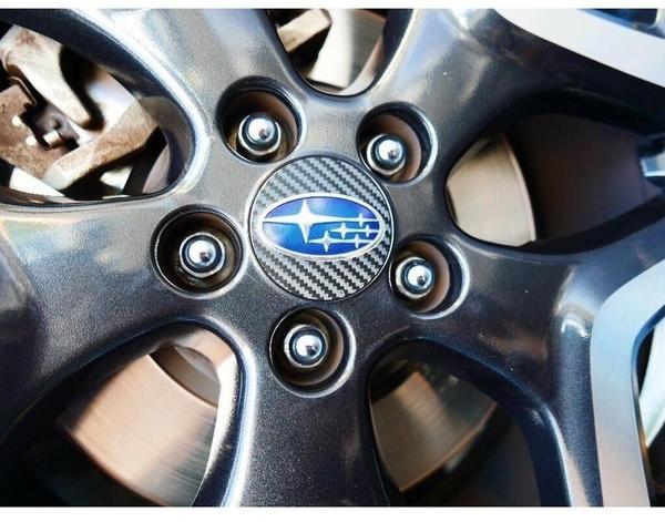 SUBARU速霸陸五代森【立體版鋁圈蓋貼】直徑5.9公分 FORESTER 輪圈蓋LOGO貼紙 鋼圈貼膜