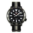 SEIKO 精工 手錶專賣店 SRPC67J1  日製機械男錶 帆布錶帶 曜石黑  防水100米