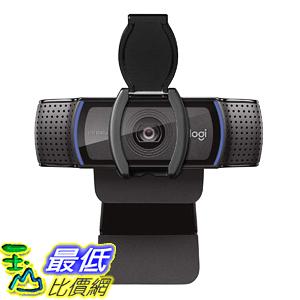 [8美國直購] Logitech C920S 網路攝影機 Pro HD Webcam 1080P with Privacy Shutter