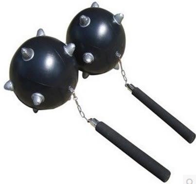 [協貿國際]  兒童充氣玩具狼牙棒流星氣球親子活動道具 (1入)