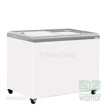 HiRON海容 3尺7玻璃推拉冷凍櫃 HSD-358