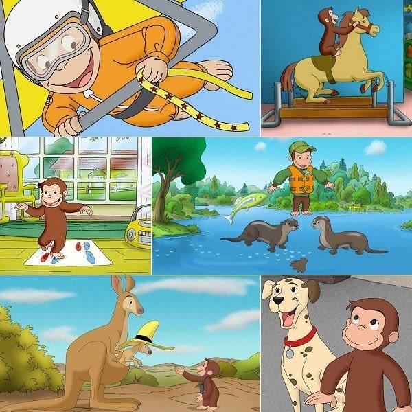好奇猴喬治(1~10集) DVD ( Curious George)