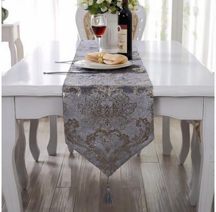 簡約歐式高貴奢華西餐桌布現代時尚桌旗茶几佈出國禮品蓋布