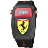 Scuderia Ferrari 法拉利 賽車電子手錶-35mm FA0810012