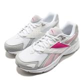 Reebok 慢跑鞋 Royal Hyperium 白 灰 粉紅 女鞋 復古 經典跑鞋 運動鞋 【ACS】 FV0194