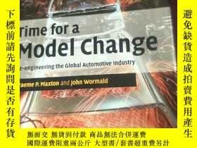 二手書博民逛書店英文原版罕見Time for a Model Change by