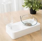 狗碗防打翻狗盆保護頸椎貓碗自動飲水器喝水狗狗貓咪水碗寵物用品 VK1718