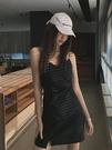 洋裝 ins超仙顯瘦氣質小心機夏裝內搭打底性感連衣裙女【618特惠】