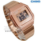 CASIO B650WC-5A 卡西歐 復古文青風大型數字數位電子錶 男錶 防水手錶 玫瑰金 B650WC-5A