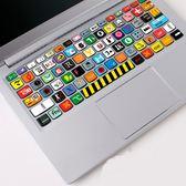 Macbook蘋果小米筆記本15保護貼膜鍵盤膜【3C玩家】