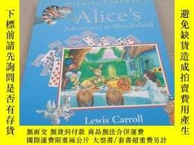 二手書博民逛書店Alice罕見s Adventures in wonderland 愛麗絲夢遊仙境Y283241