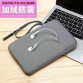 蘋果iPad mini4保護套迷你1/2/3內膽包小米平板電腦3殼防摔布袋