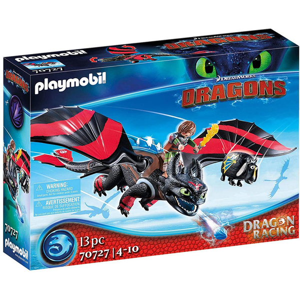 playmobil 摩比人積木 馴龍高手Hiccup and Toothless_PM70727