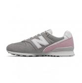 New Balance 女款復古休閒鞋 灰粉-NO.WL996BC